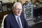 Physicist John Goodenough, co-inventor of the lithium-ion battery