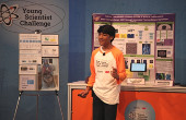 Rishab Jain competing in the 2018 Young Scientist Challenge