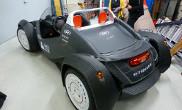 Strati 3D Printed Carbon Fiber Plastic Car