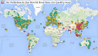 WAQI.info's World Air Quality Map